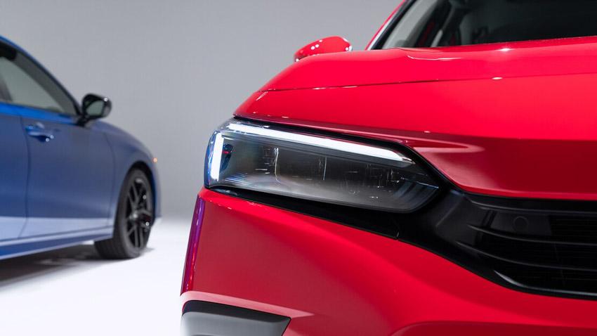 Cận cảnh Honda Civic 2022 trở lại với kiểu sedan truyền thống - 20