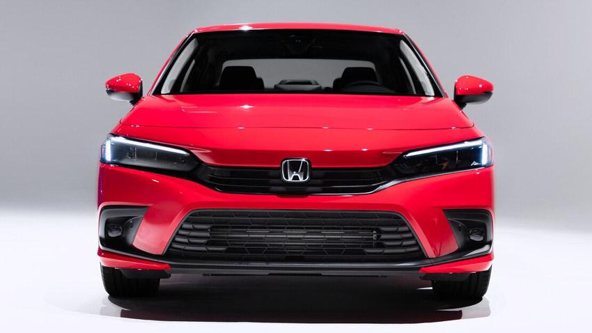 Cận cảnh Honda Civic 2022 trở lại với kiểu sedan truyền thống - 21