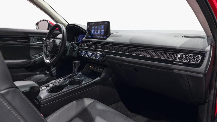 Cận cảnh Honda Civic 2022 trở lại với kiểu sedan truyền thống - 23