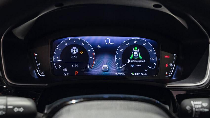 Cận cảnh Honda Civic 2022 trở lại với kiểu sedan truyền thống - 33