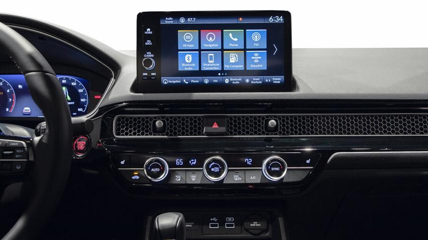 Cận cảnh Honda Civic 2022 trở lại với kiểu sedan truyền thống - 43