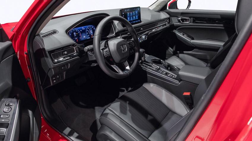 Cận cảnh Honda Civic 2022 trở lại với kiểu sedan truyền thống - 45