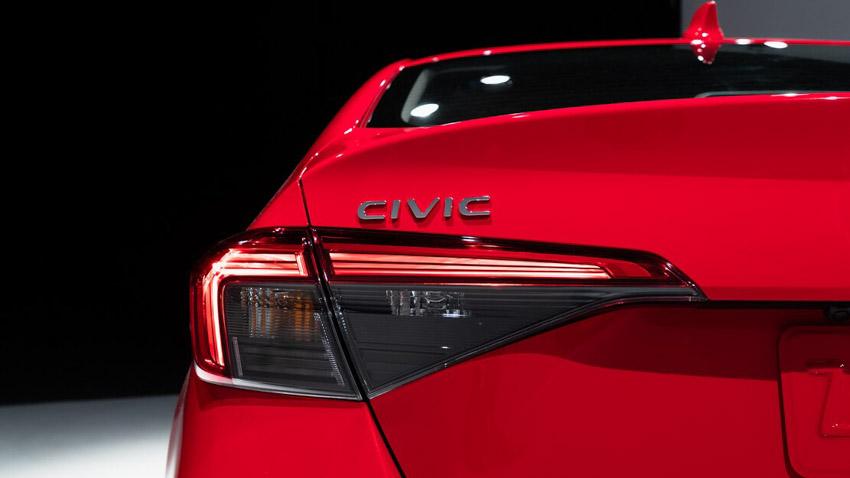 Cận cảnh Honda Civic 2022 trở lại với kiểu sedan truyền thống - 6