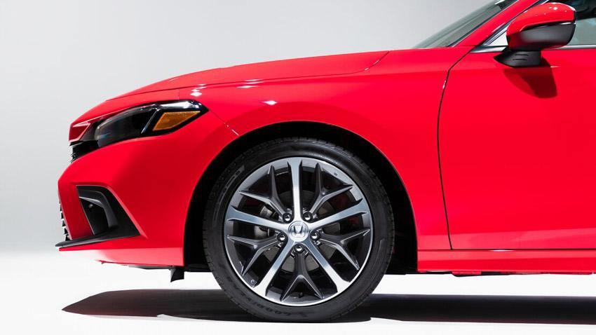 Cận cảnh Honda Civic 2022 trở lại với kiểu sedan truyền thống - 8