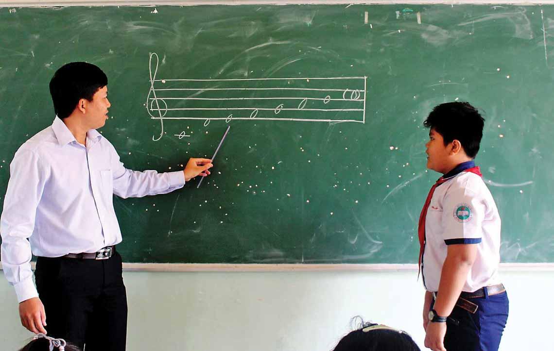 Giáo dục âm nhạc ở trường phổ thông - 3