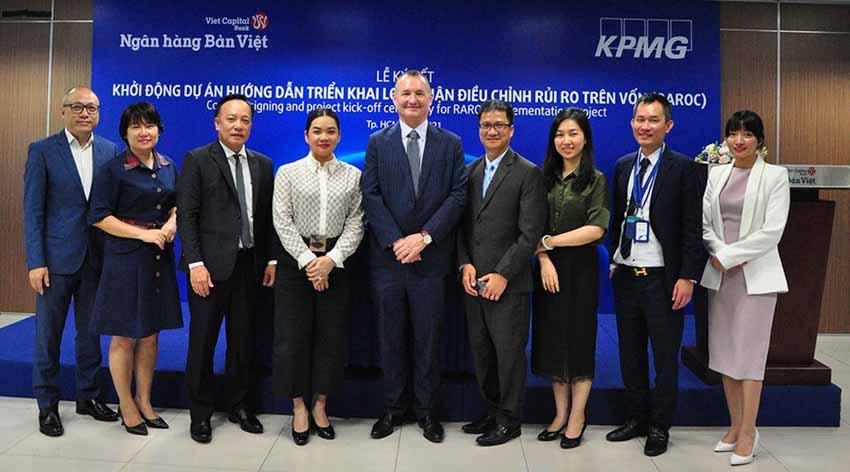 Ngân hàng Bản Việt hợp tác cùng KPMG triển khai dự án mới - 2
