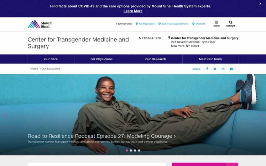 Bên trong Trung tâm phẫu thuật chuyển giới đột phá ở New York - 1