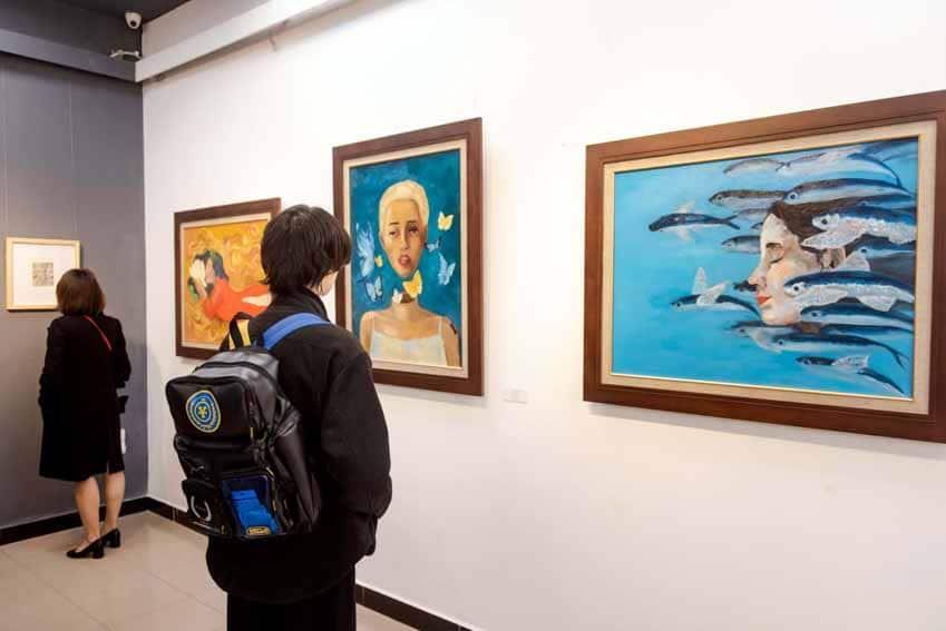 'Hồi hải mã' - triển lãm của những tài năng trẻ được Vinschool 'ươm mầm' - 4
