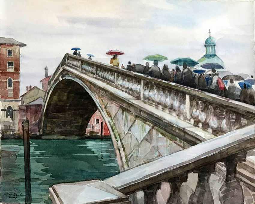 Venice, thành phố kênh, cầu - 10