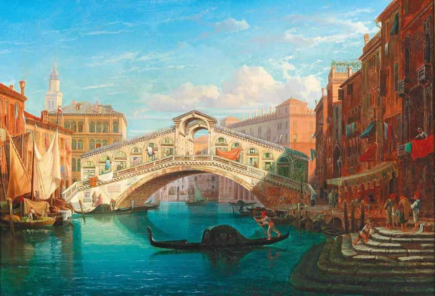 Venice, thành phố kênh, cầu - 13