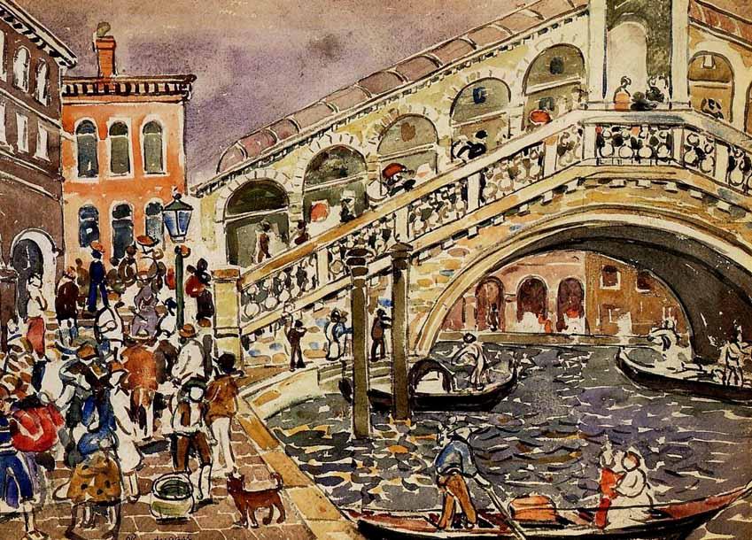 Venice, thành phố kênh, cầu - 14