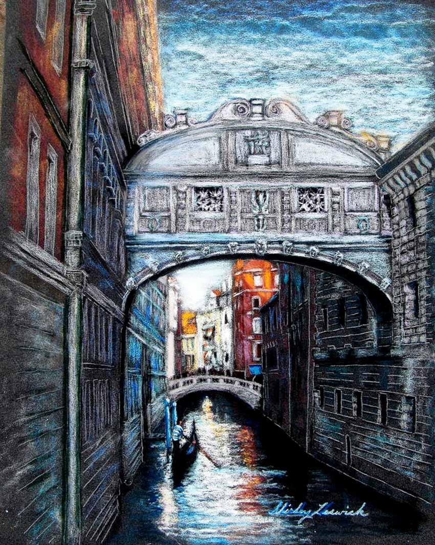 Venice, thành phố kênh, cầu - 16