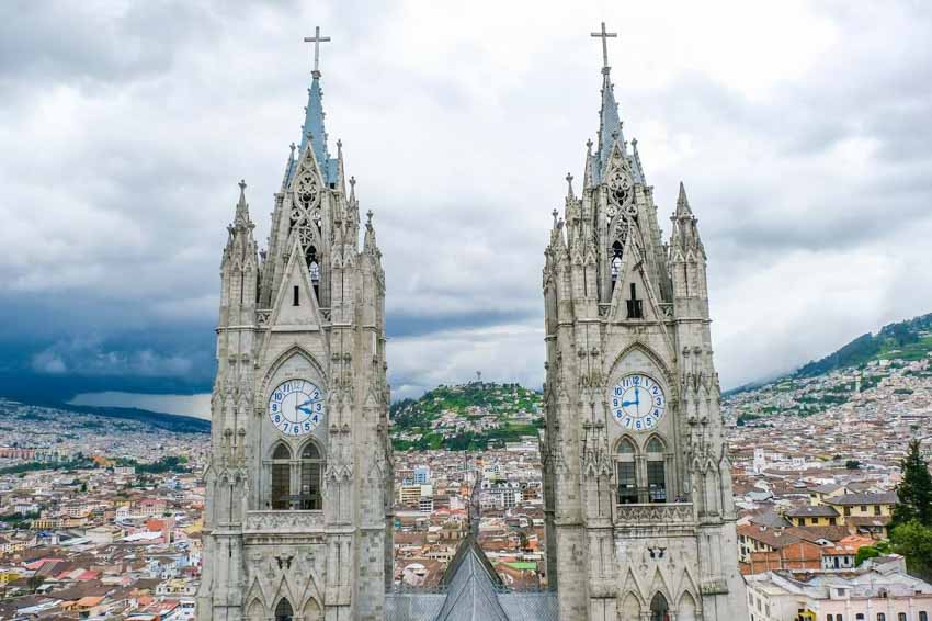 Cuộc phiêu lưu ở đất nước xích đạo Ecuador - 1