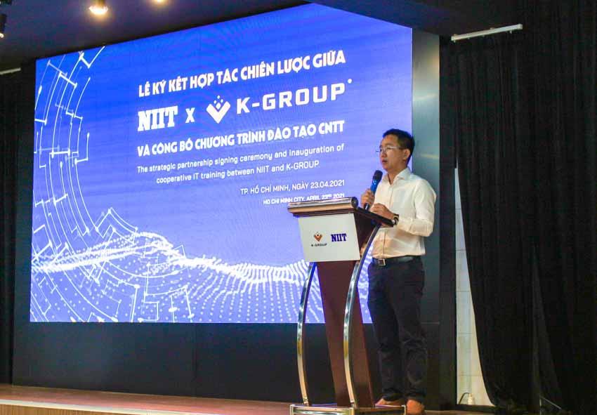K-Group hợp tác với NIIT đào tạo nguồn nhân sự công nghệ thông tin chất lượng cao - 1