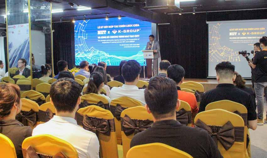 K-Group hợp tác với NIIT đào tạo nguồn nhân sự công nghệ thông tin chất lượng cao - 2