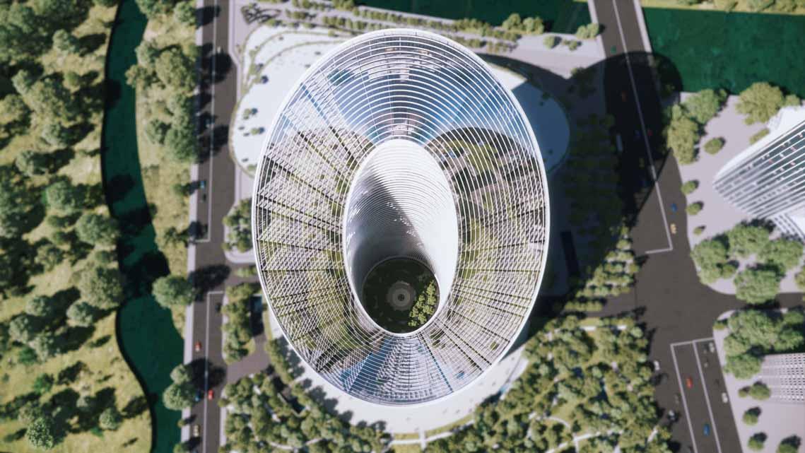 Tòa nhà văn phòng ở Hàng Châu là biểu tượng cho triết lý thiết kế của OPPO - 3