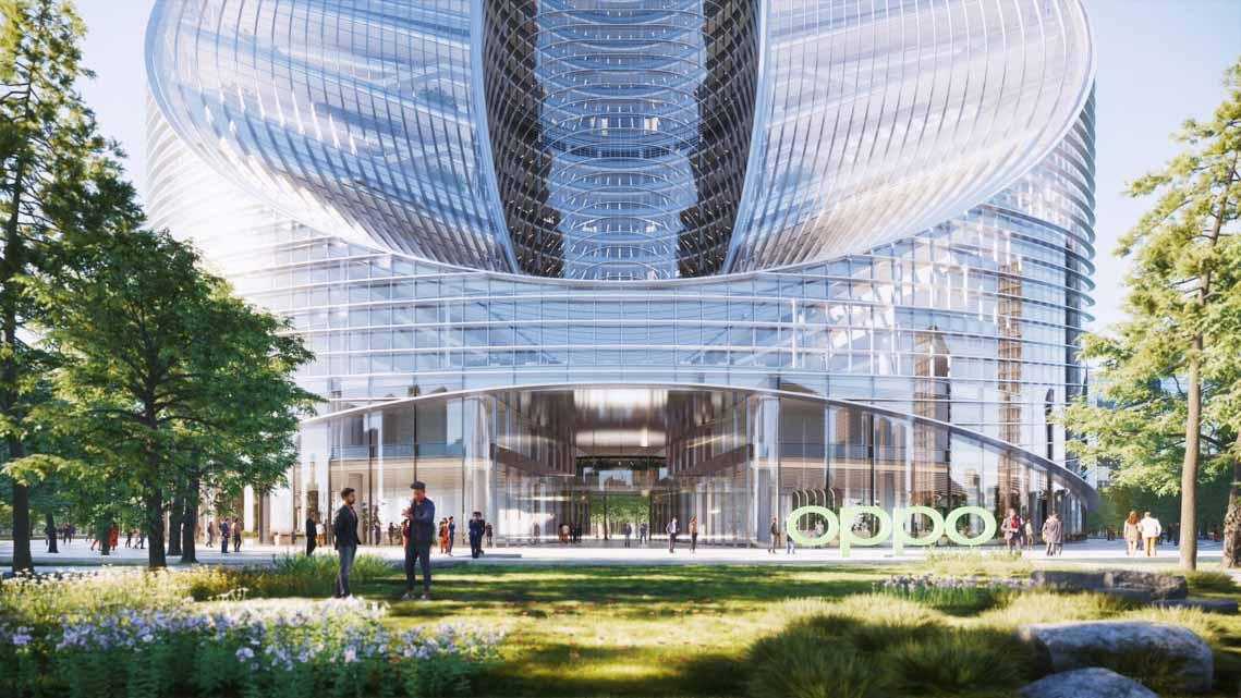 Tòa nhà văn phòng ở Hàng Châu là biểu tượng cho triết lý thiết kế của OPPO - 5