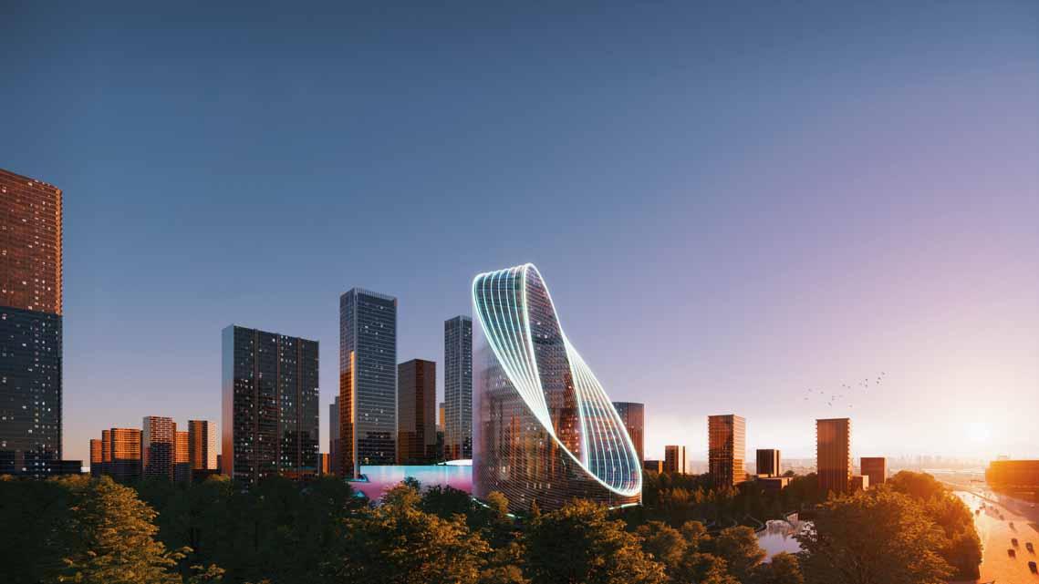 Tòa nhà văn phòng ở Hàng Châu là biểu tượng cho triết lý thiết kế của OPPO - 10