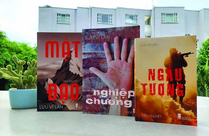 Nhà văn Lưu Vĩ Lân: Viết là để hòa giải - 1