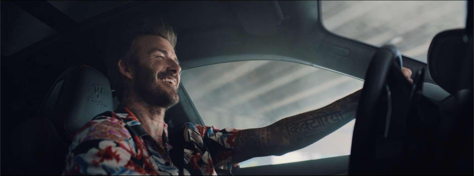 Maserati Việt Nam, David Beckham, đại sứ thương hiệu