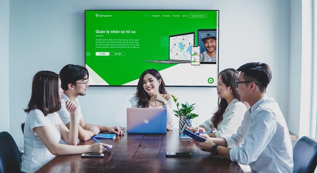 ACheckin là một dự án thuộc Appota Group tập trung vào khai thác mảng SmartOffice Solutions, chính thức ra mắt thị trường từ tháng 12/2019