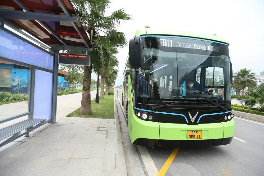 Vinbus chính thức vận hành xe buýt điện thông minh đầu tiên tại Việt Nam-7