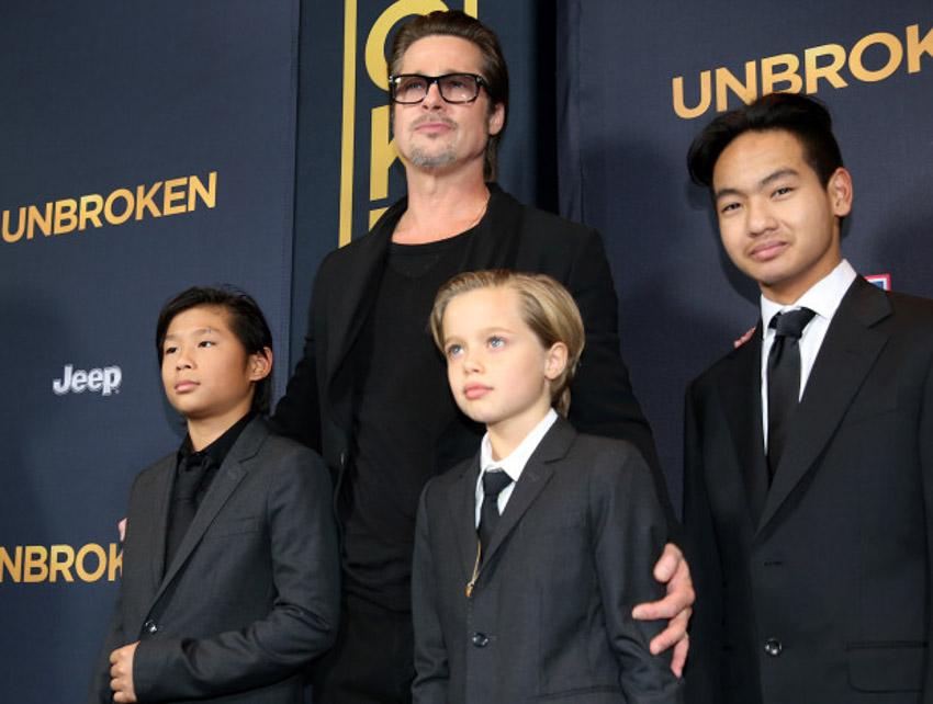 Brad Pitt giành được quyền nuôi con chung với Angelina Jolie - 1