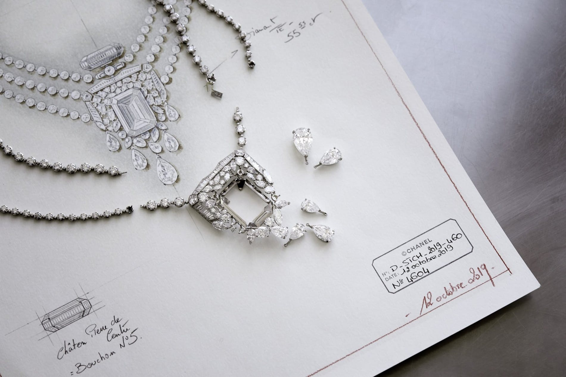 Chanel 55.55 - Sợi dây chuyền kỷ niệm 100 năm biểu tượng-3