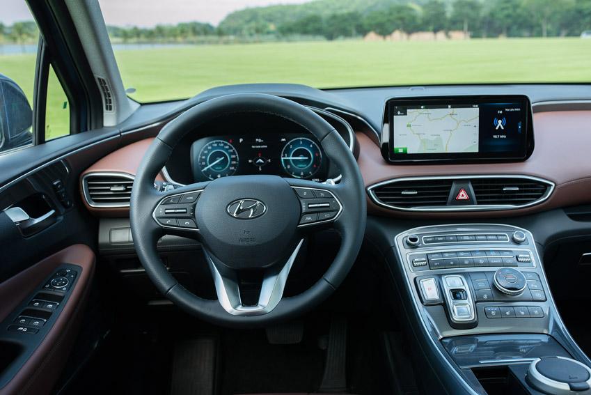 Hyundai Santa Fe 2021 chính thức ra mắt tại Việt Nam với giá bán từ 1.030 triệu đồng - 13