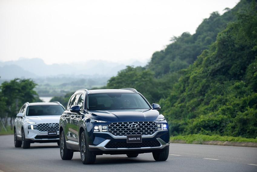 Hyundai Santa Fe 2021 chính thức ra mắt tại Việt Nam với giá bán từ 1.030 triệu đồng - 19