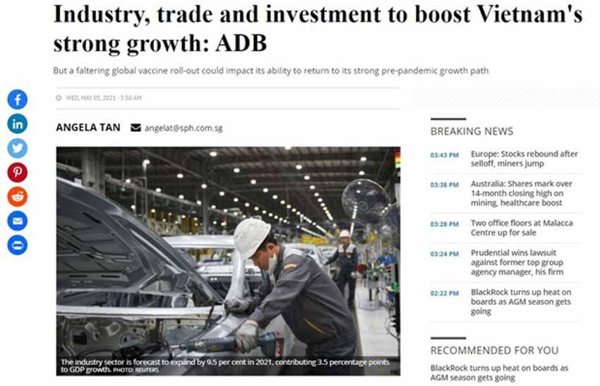 ADB dự báo kinh tế Việt Nam tăng trưởng mạnh mẽ và vững chắc - 2