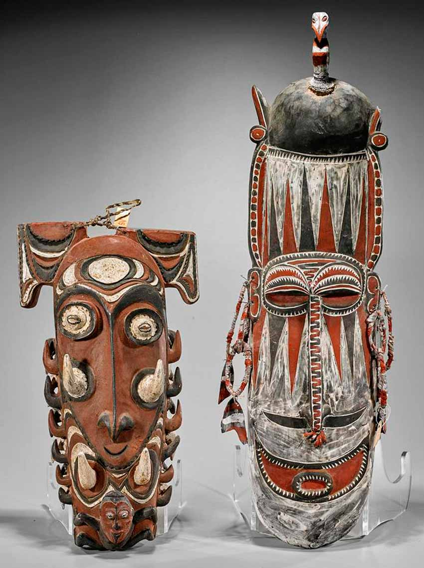 Phong phú mặt nạ Papua New Guinea - 12