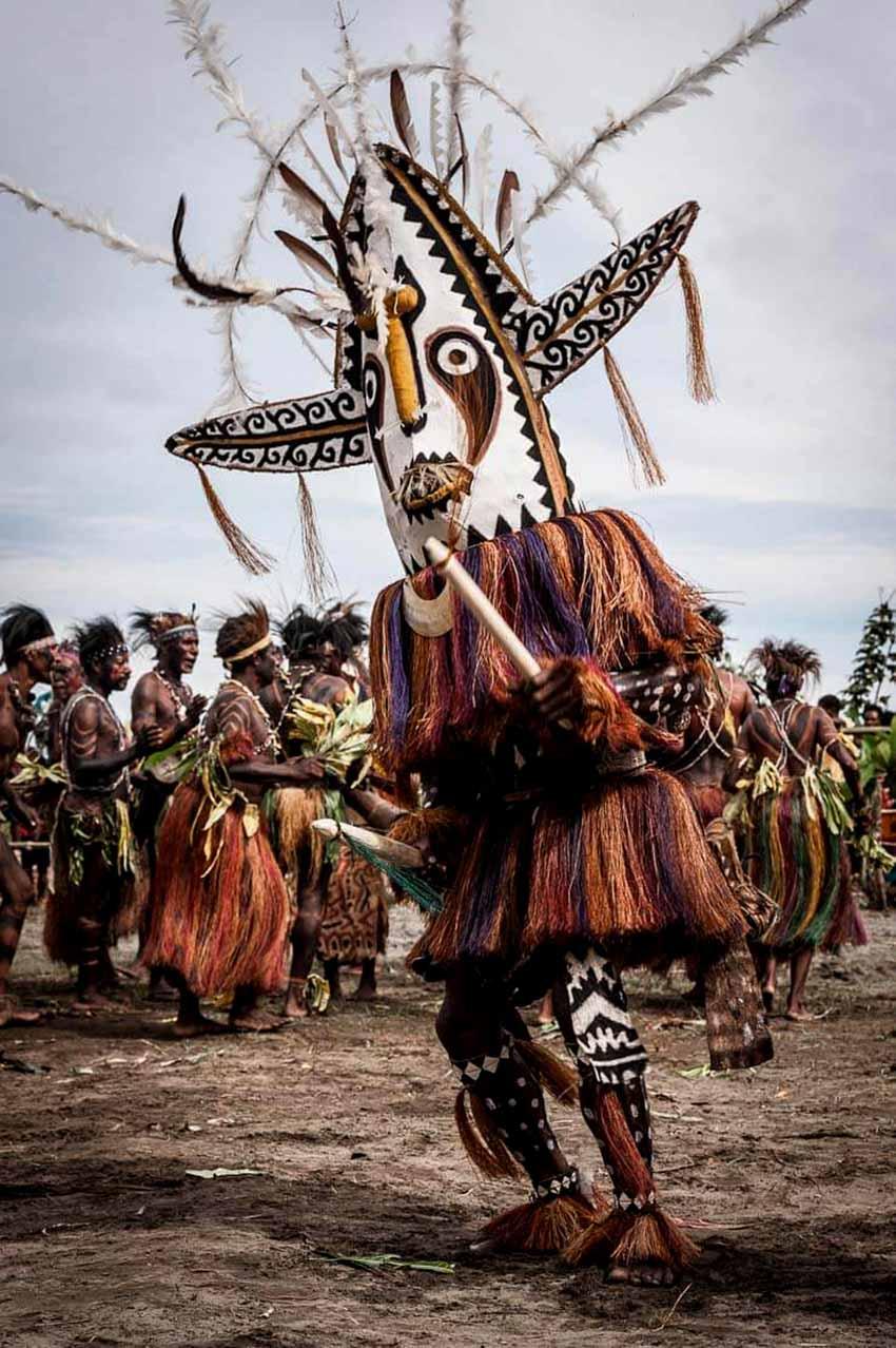 Phong phú mặt nạ Papua New Guinea - 7