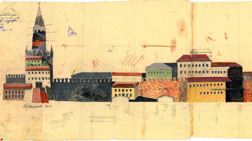 Tiết lộ về dự án cải trang Điện Kremlin che mắt không quân Đức Quốc xã - 2