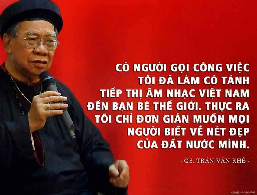 Khởi động Giải thưởng Trần Văn Khê: Tôn vinh tài năng âm nhạc truyền thống Việt Nam - 1