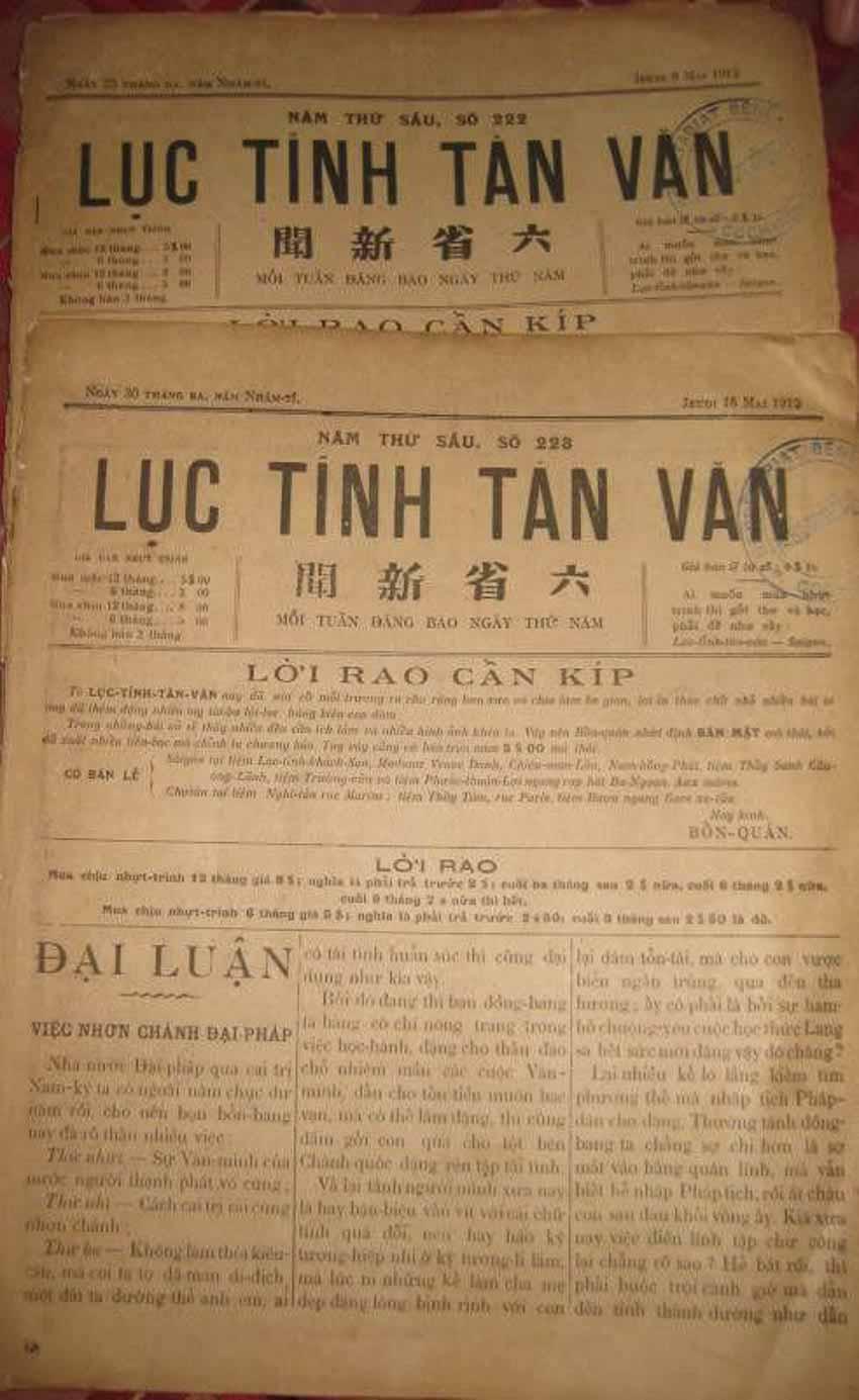 Xuất bản ở Nam bộ giai đoạn cuối thế kỷ XIX - đầu thế kỷ XX - 4
