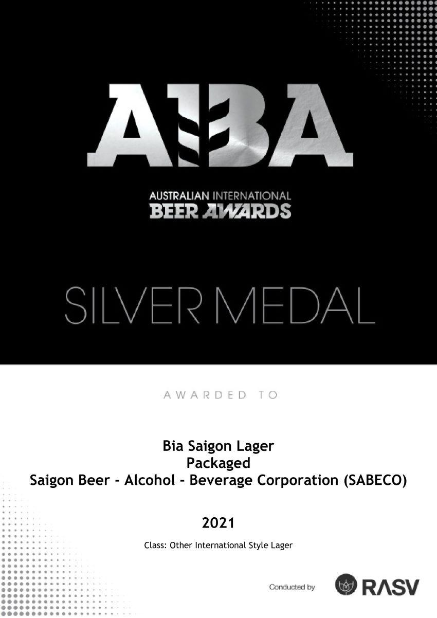 Giải thưởng bia Úc