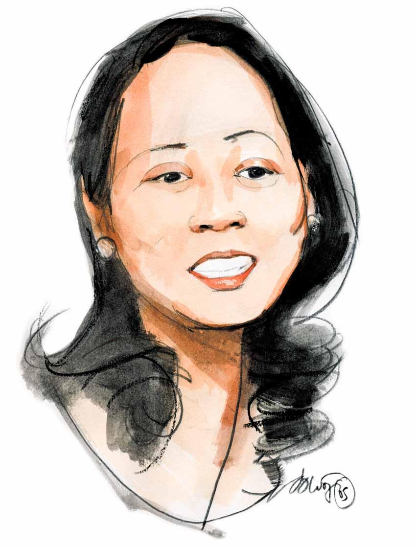 Dương Thanh Thủy - Giám đốc công ty Trung Thủy, chủ nhân thương hiệu Miss Áo Dài: 'Sự giàu có cũng mong manh lắm...' - 1