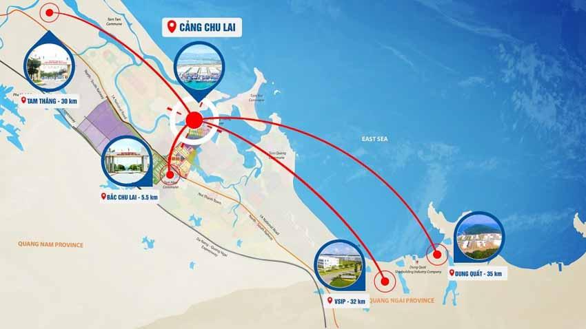 Cảng Chu Lai - Cửa ngõ xuất khẩu hàng hóa mới tại miền Trung - 2