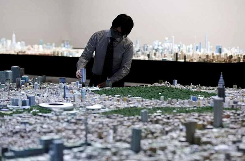 Ngỡ ngàng với mô hình thành phố Tokyo thu nhỏ tỷ lệ 1:1000 cực kỳ chi tiết được làm hoàn toàn bằng tay - 1