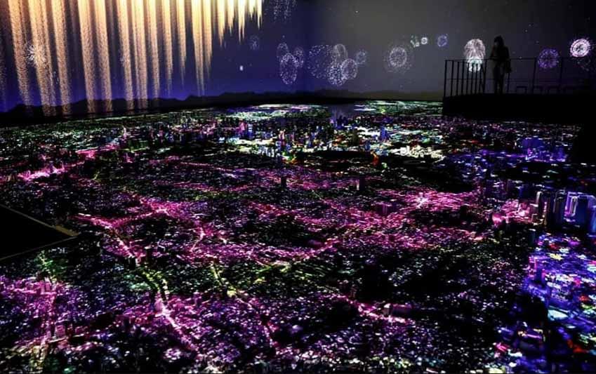 Ngỡ ngàng với mô hình thành phố Tokyo thu nhỏ tỷ lệ 1:1000 cực kỳ chi tiết được làm hoàn toàn bằng tay - 2