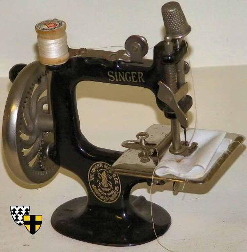 Lịch sử đệ nhất máy may Singer - 1