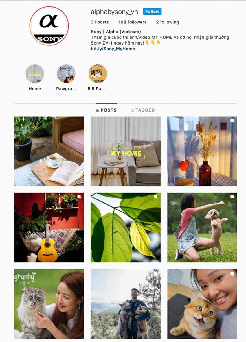 Sony Việt Nam ra mắt trang Sony Alpha trên Instagram, công bố cuộc thi 'My home' với nhiều giải thưởng hấp dẫn - 1