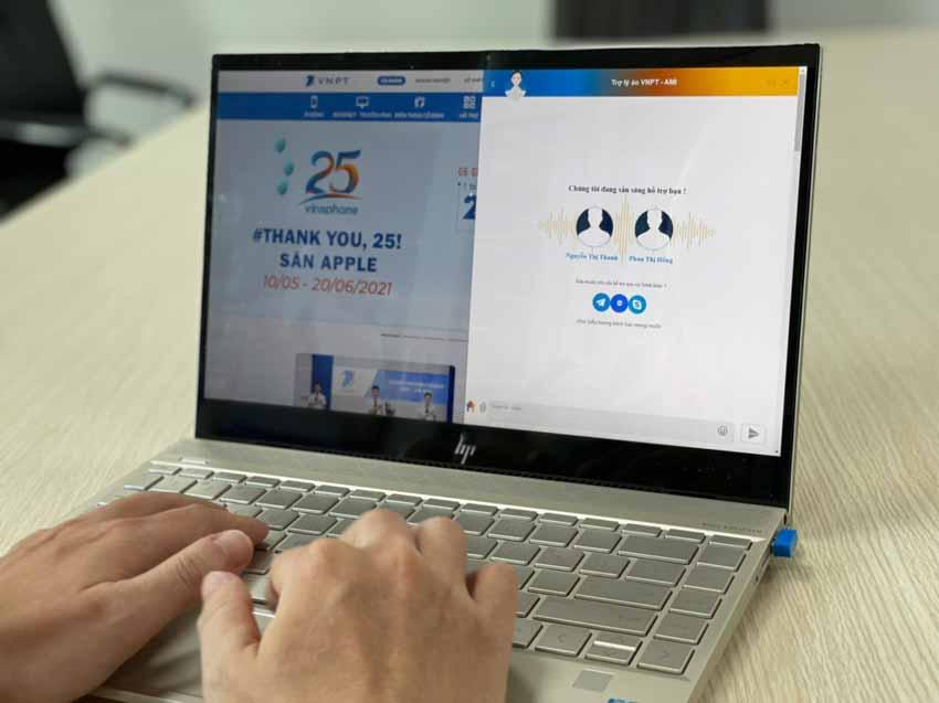 VNPT giới thiệu trợ lý ảo AMI giao tiếp một chạm thông minh với khách hàng - 1