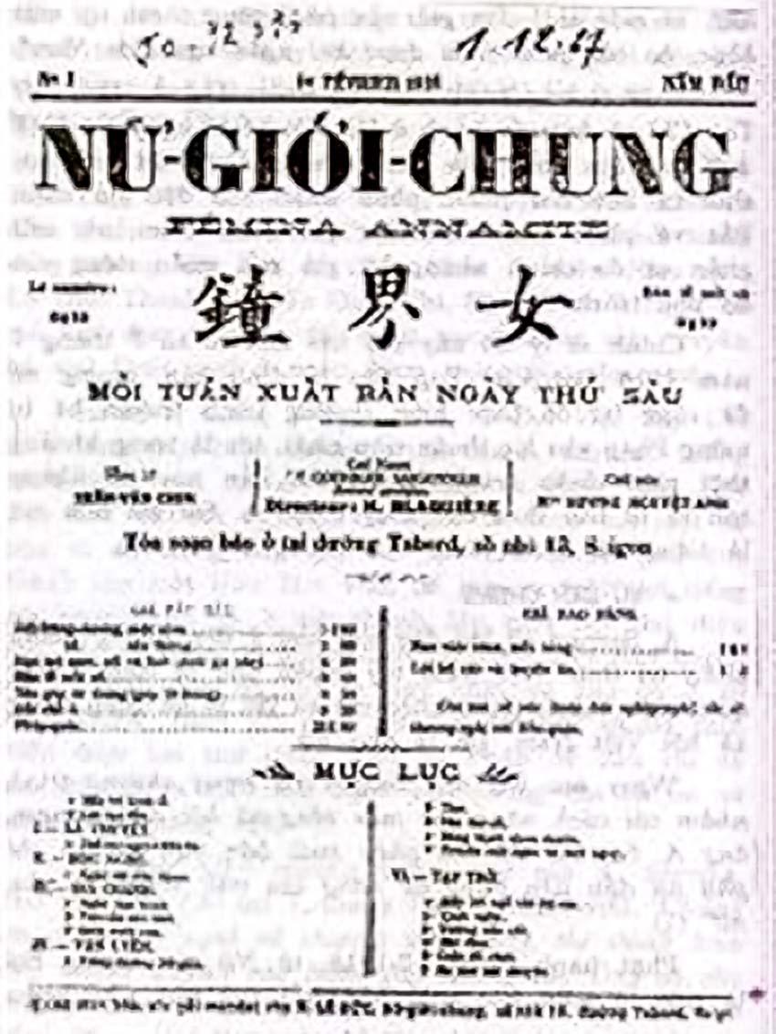 Nhà thơ, nữ tổng biên tập đầu tiên của báo chí Việt Nam - 2