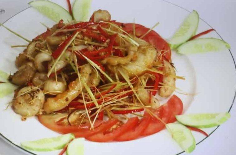 Món ăn từ gân cá ngừ, lạ lắm à nha! - 2