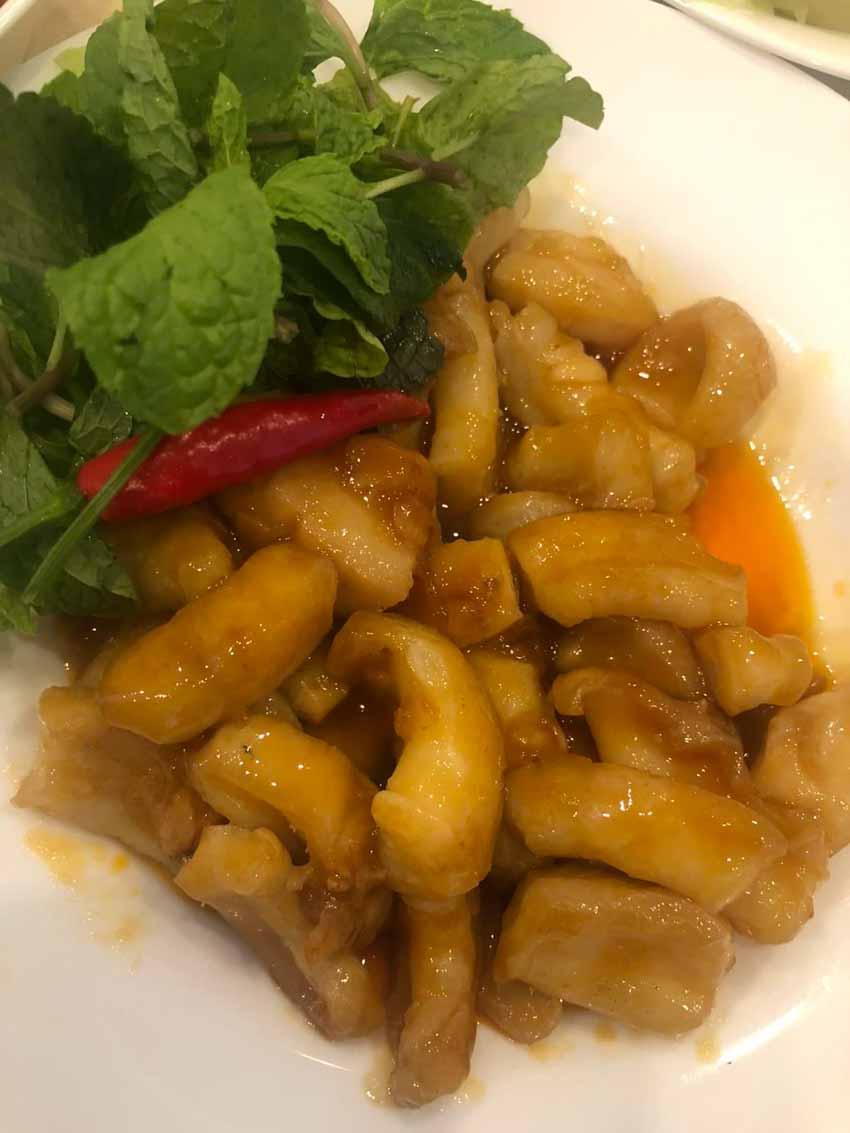 Món ăn từ gân cá ngừ, lạ lắm à nha! - 3