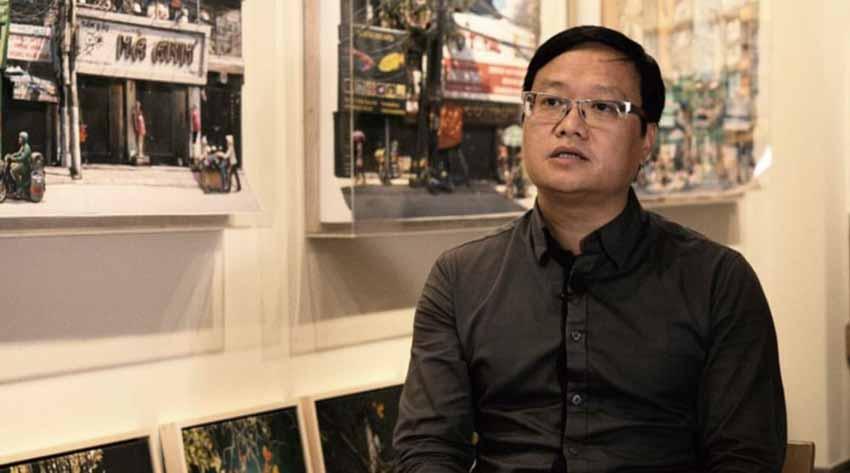 Họa sĩ Nguyễn Thế Sơn: Giúp truyền thống 'thích nghi' trong nghệ thuật đương đại - 1