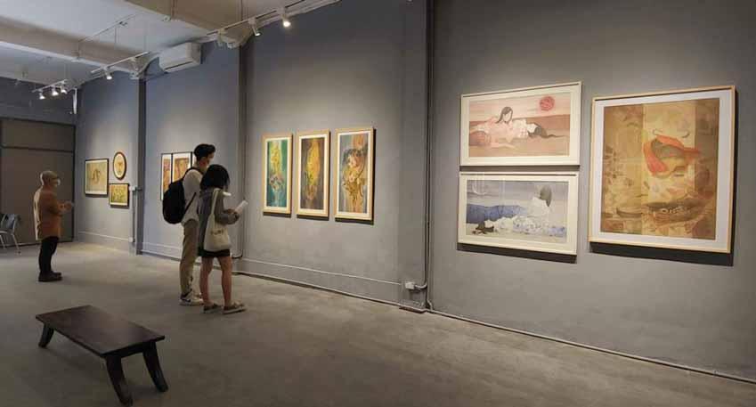 Họa sĩ Nguyễn Thế Sơn: Giúp truyền thống 'thích nghi' trong nghệ thuật đương đại - 4
