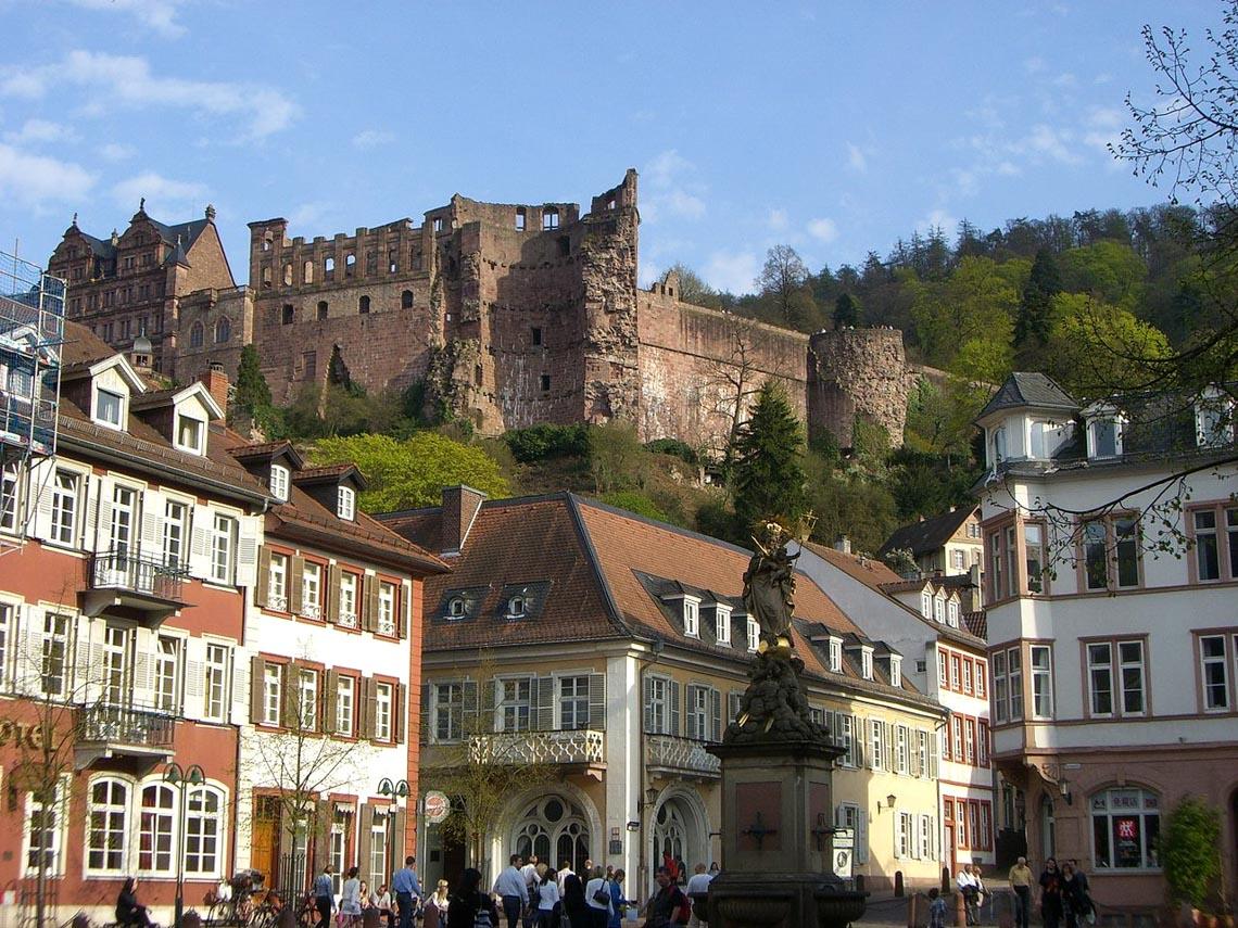 Ngỡ ngàng trước lâu đài cổ Heidelberg ở Đức - 6